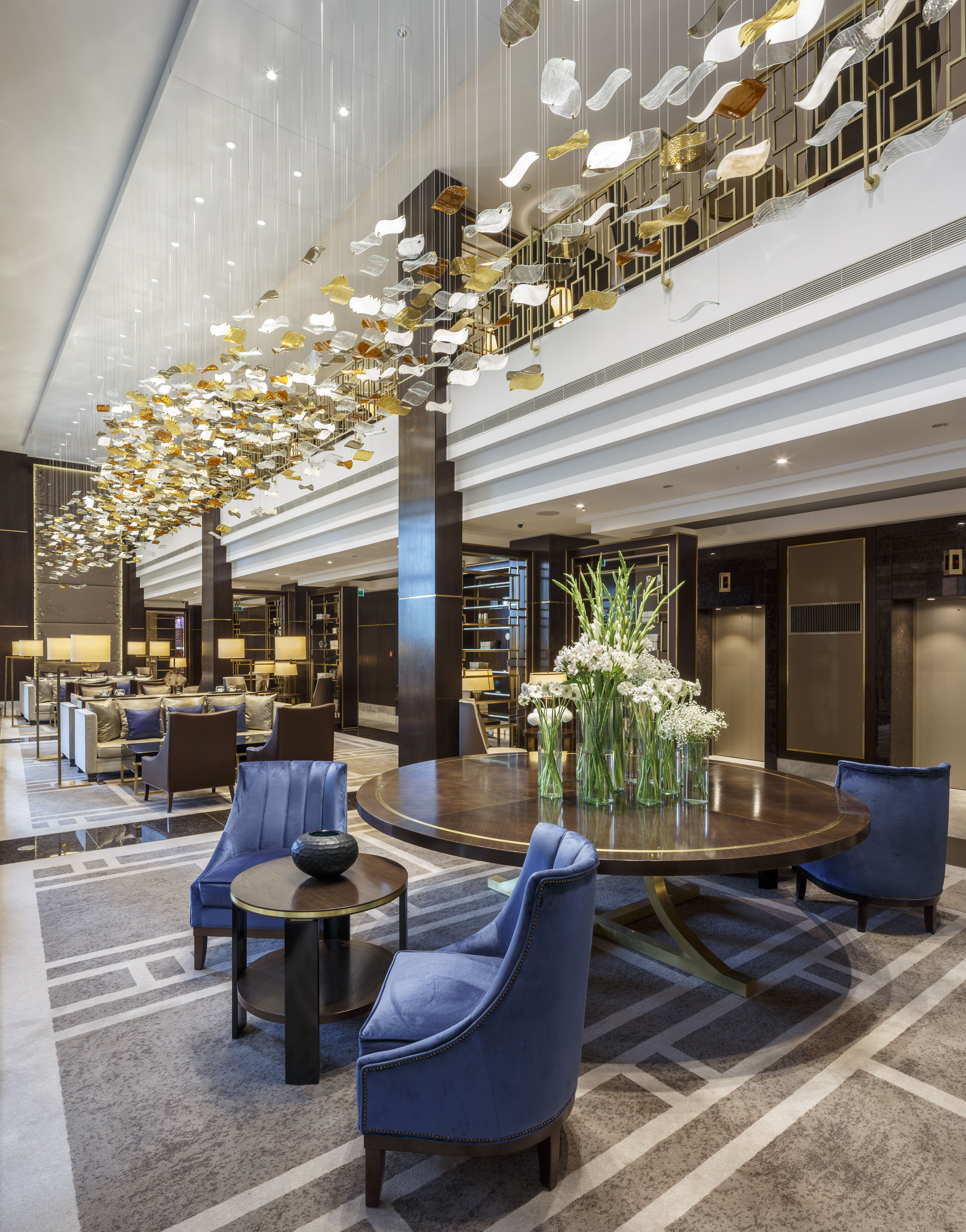 Stunning Hotel Lounge by the UK interior