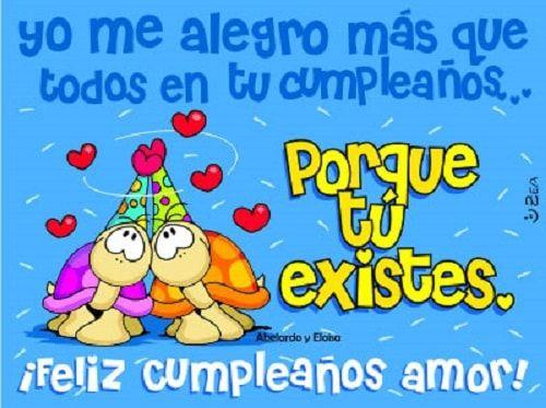 Imagenes De Cumpleaños Para Mi Pareja!