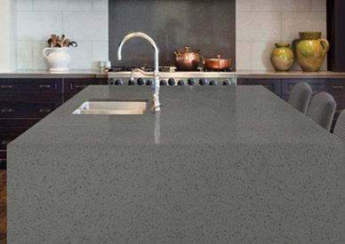 Hanstone Sterling Grey Quartz Countertop For The Home