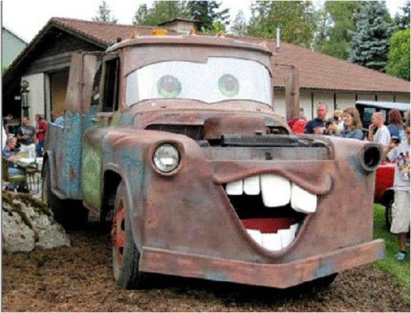 3rd annual touch a truck event tow mater someone beat me to it rh pinterest com