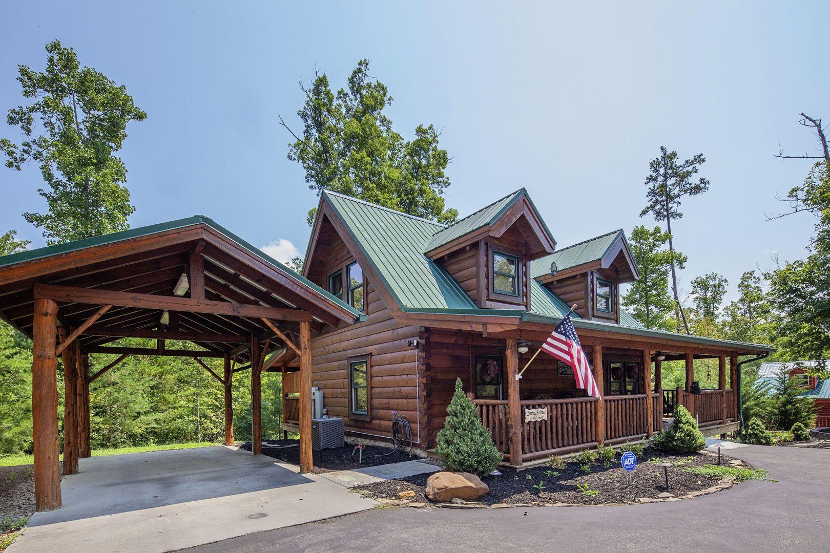 pigeon forge cabins liam s retreat heritage cabin rentals rh pinterest com