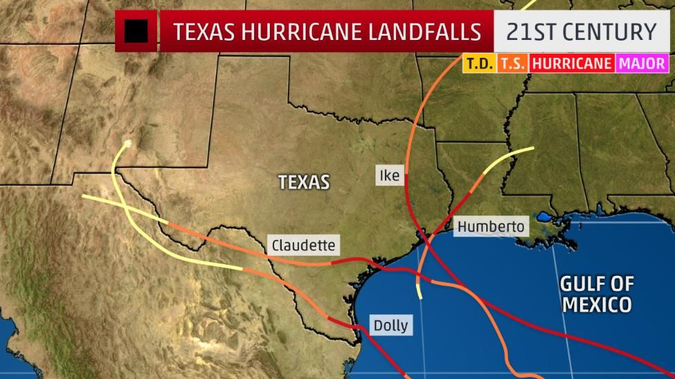 Map Of Poitiers%0A Harvey is the First Texas Hurricane Landfall Since Ike  Nearly   Years Ago