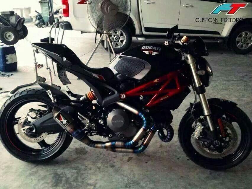 Ducati Monster Austin Racing Ducati Monster