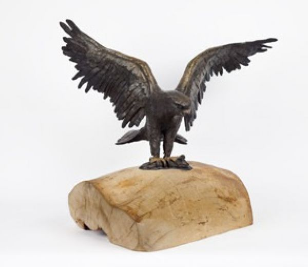 Bird Sculptures bronze on wood base birds sculptures or statueartist cynthia
