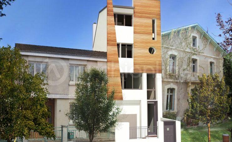 Maison Coquille réalisée par les architectes partenaires d