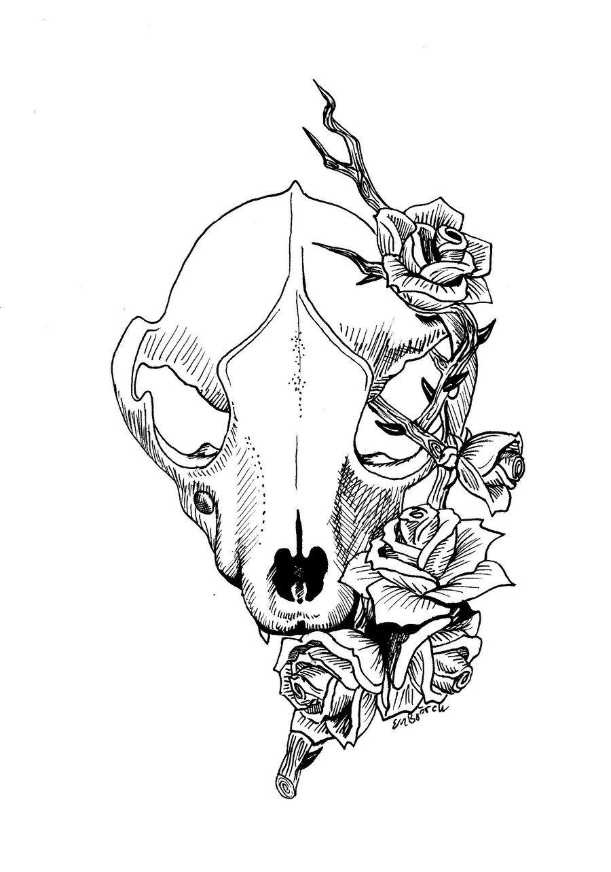 Fox By Elinbjorck Deviantart Com Tattoo Ideas Animal