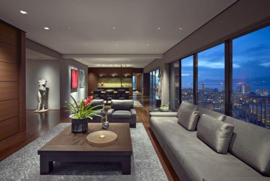 Tampa Apartment Luxury San Francisco Interior By Zackde Vito Architecture