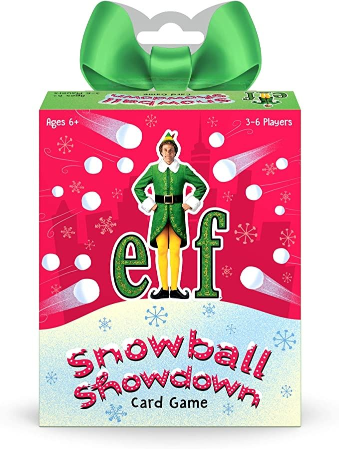 They now have a card game fot Elf the movie #elf #elfontheshelf #christmas #christmasgifts #christmasmovies