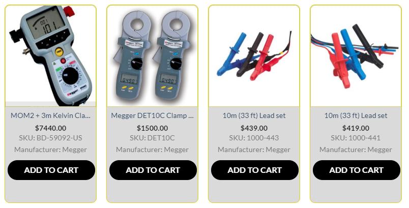 Megger Electrical Test Equipment Micro Ohmmeter Meg Ohmmeter Insulation Earth Tester Insulation Tester Digital