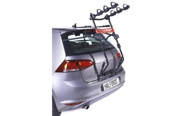 Halfords Rear High Mount 3 Cycle Carrier With Images Cycle