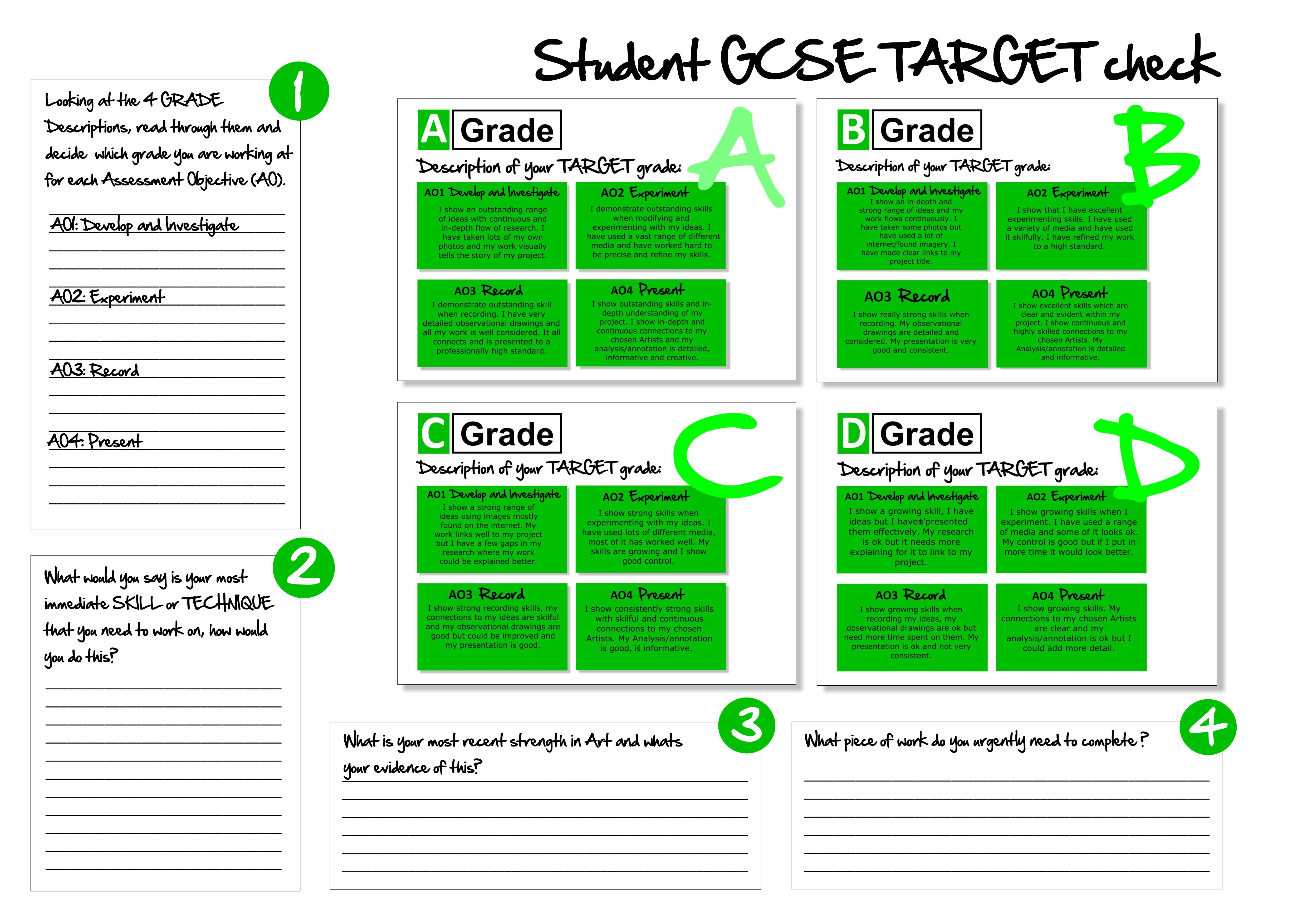 Gcse Student Evaluation With Images