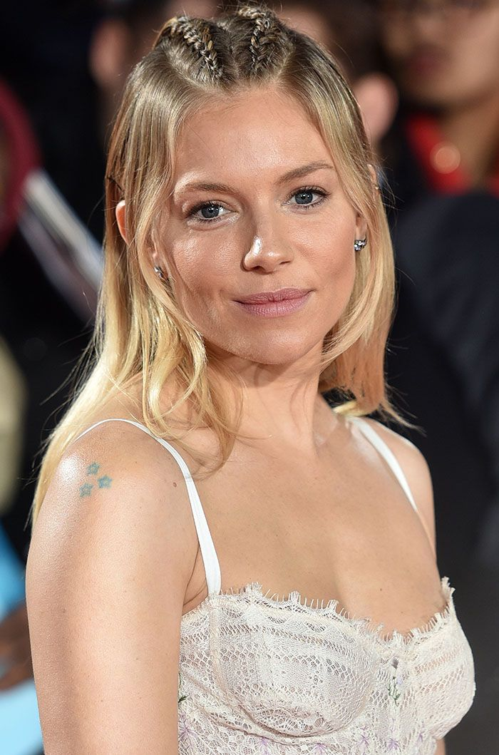 Sienna Miller at the European Premiere of 'Lost City of Z' held at the British Museum