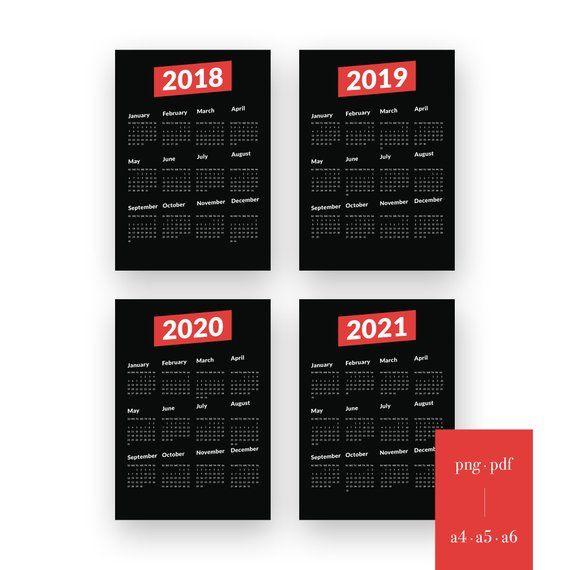 February Workout Calendar Blogilates 2020 Black Geometric Calendar 2018 2019 2020 2021 Digital Planner