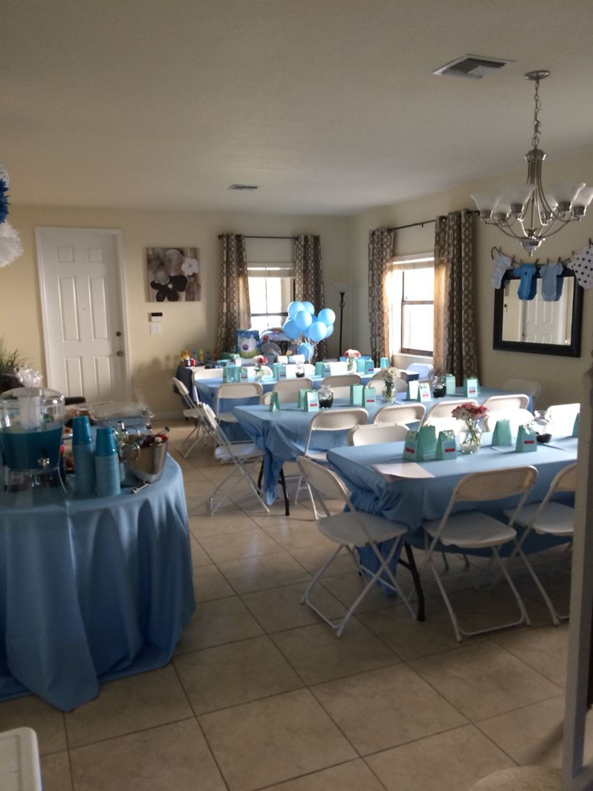 Baby Shower Room Set Up Ideas