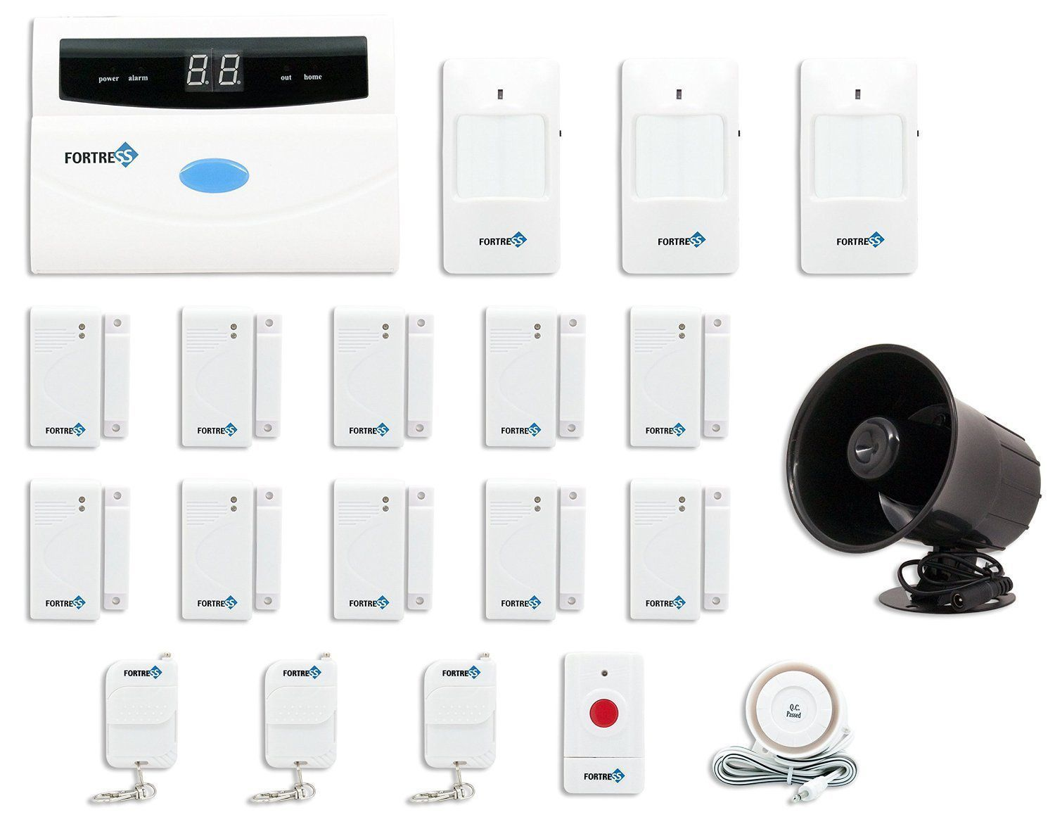 The 9 Best Smart Home Security Systems Of 2021 Home Security Alarm System Home Security Systems Wireless Home Security Systems