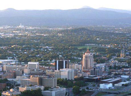 My Hometown Roanoke Va Virginia Travel Mountain Town Roanoke