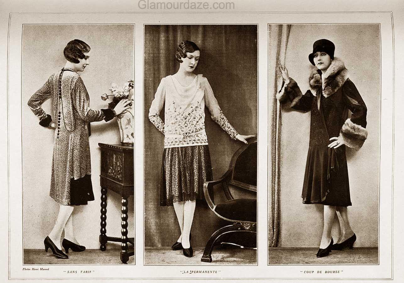 1920s Fashion - Autumn Wardrobe and Beauty Makeover 1928. | Glamour Daze