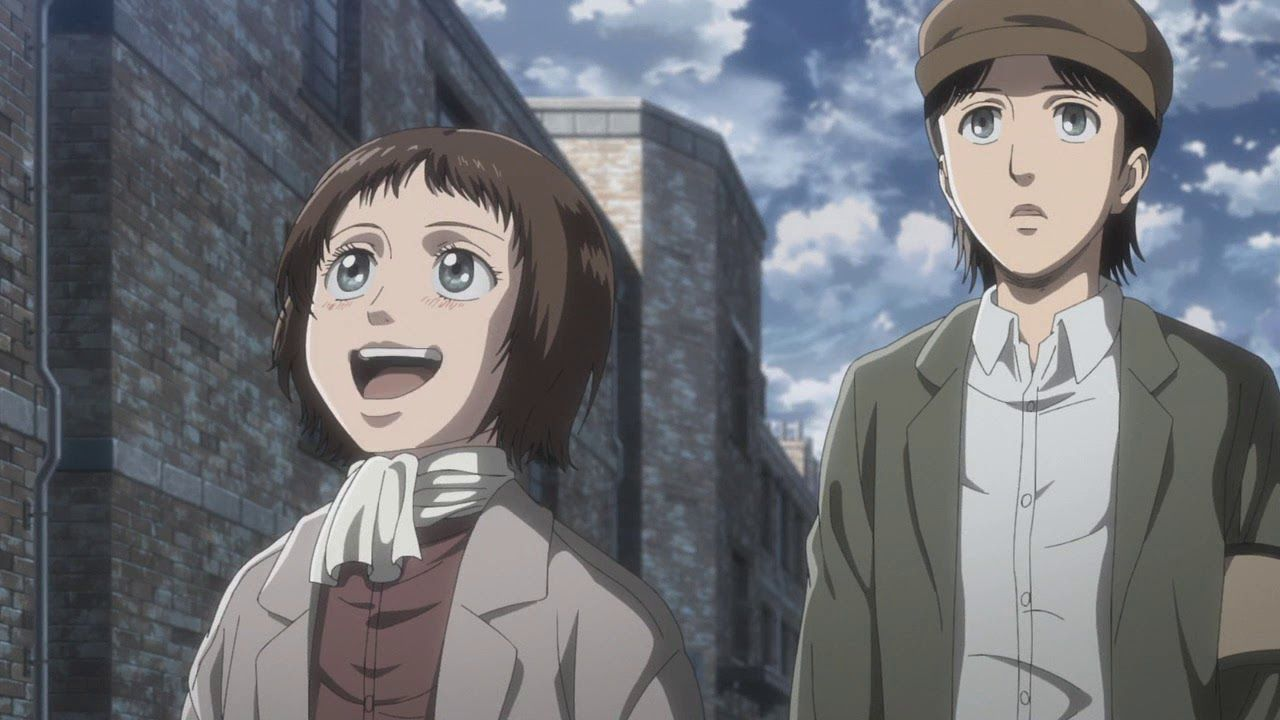 Marley Attack On Titan Season 3 Episode 7 Hd With Images