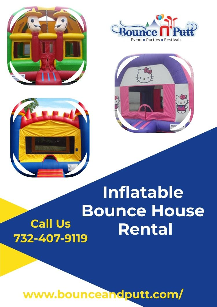 Inflatable Bounce House Rental Bounce house, Inflatable