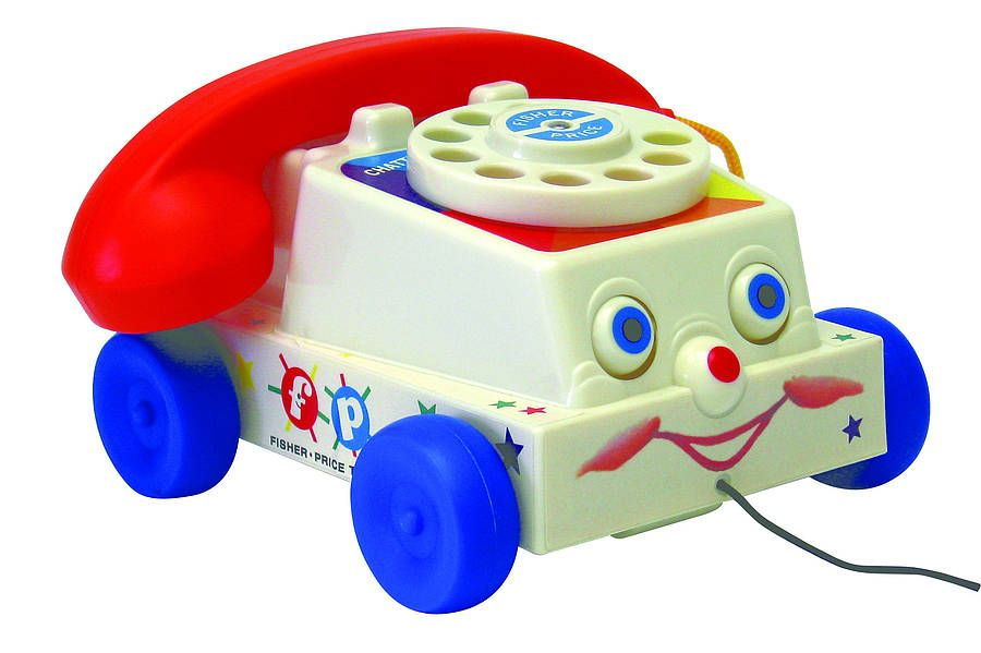 Classic toy telephone, just like you used to have when you were little! £32.00