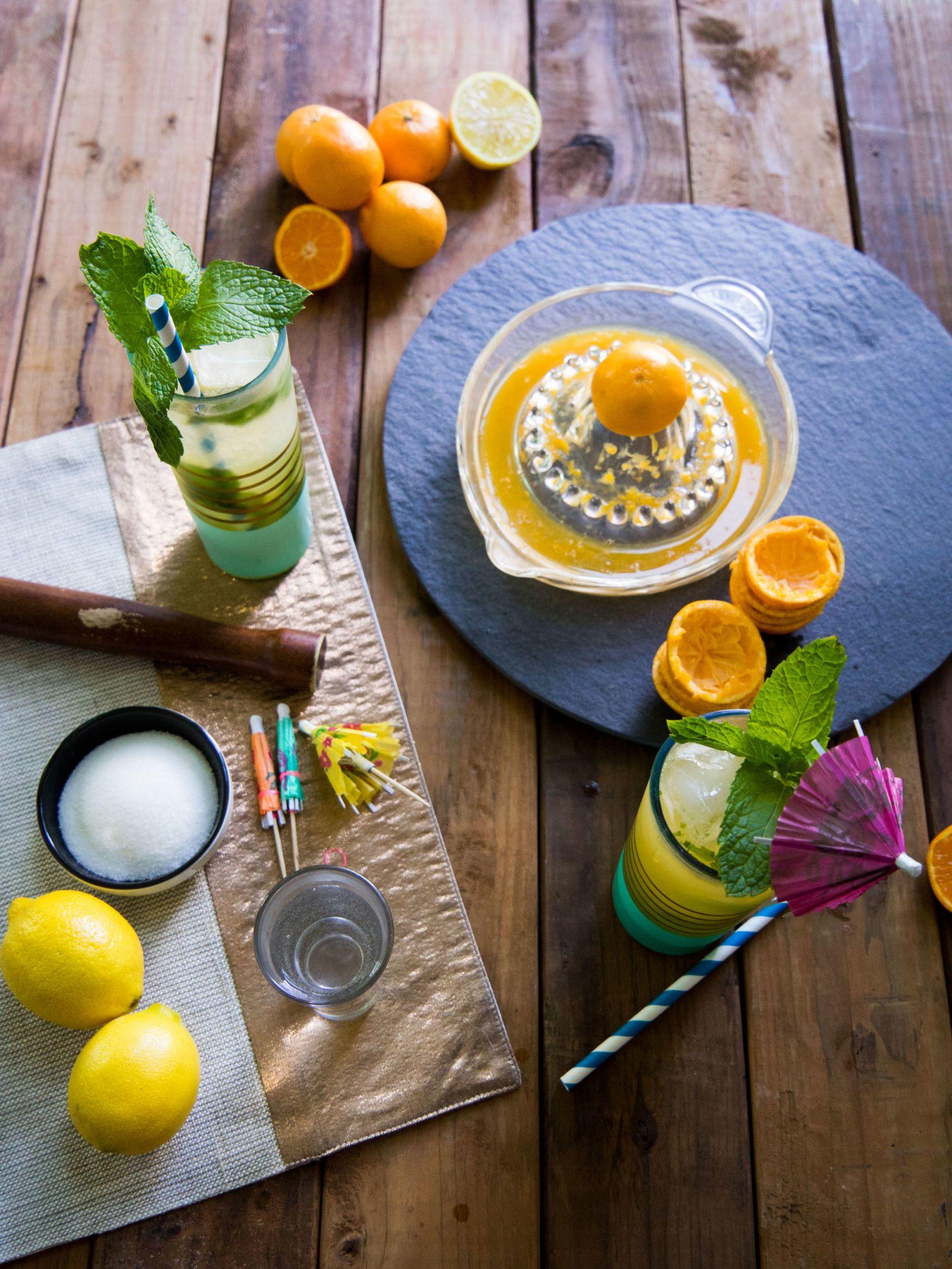 Sparkling Tangerine Mojito