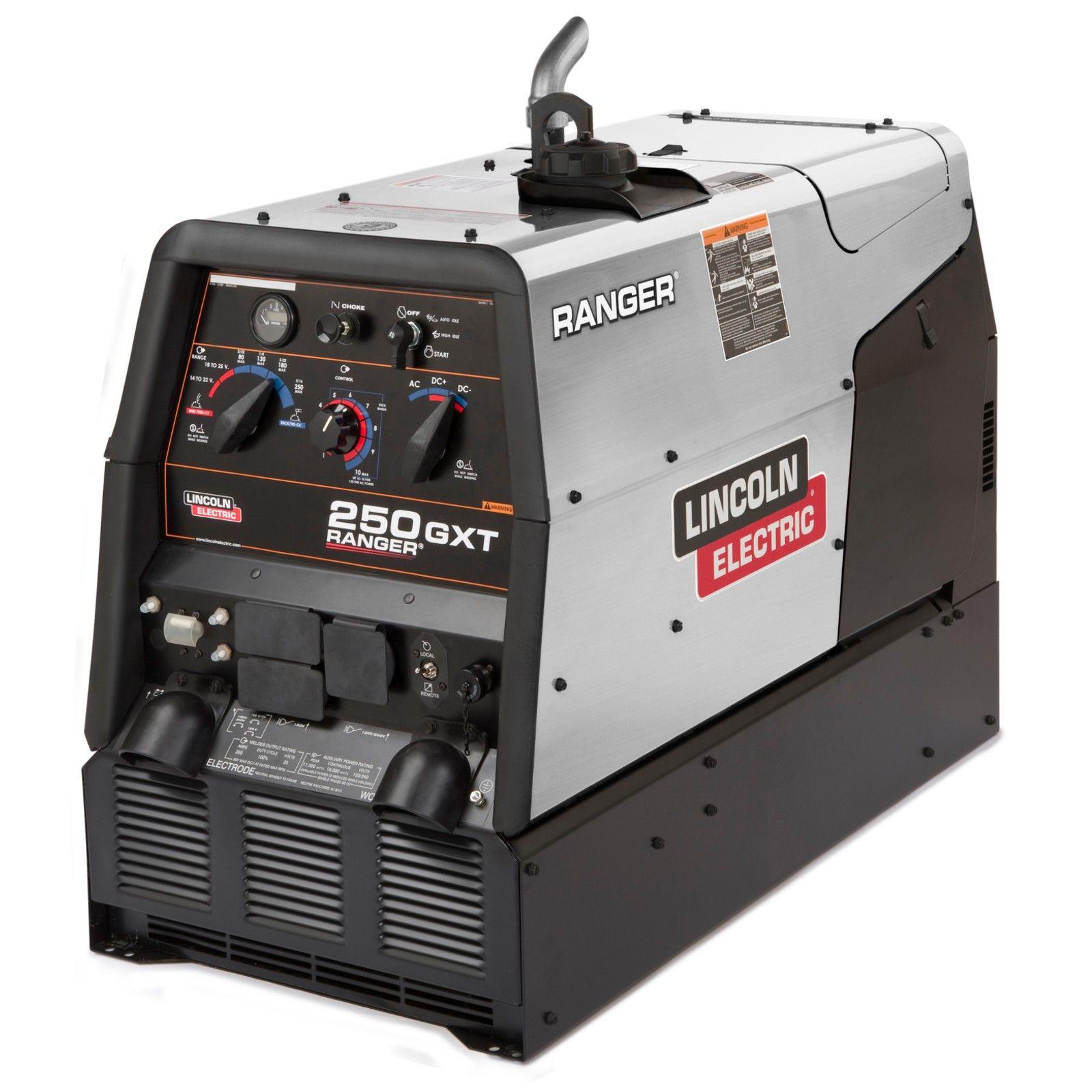 Lincoln Ranger 250 GXT Welder/Generator w/ Stainless Steel (K2382-5