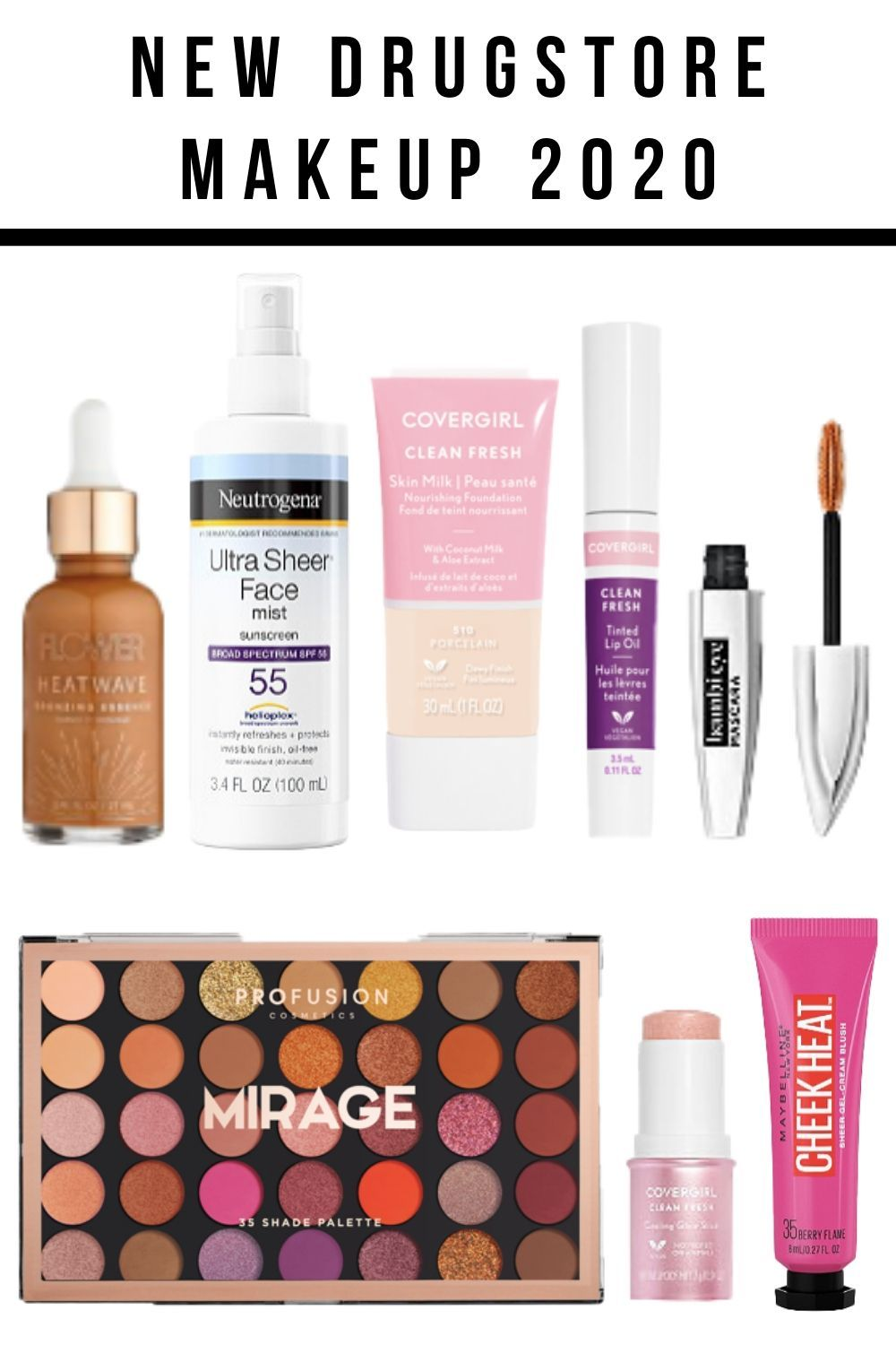 Brand new drugstore makeup 2020 in 2020 Beauty products