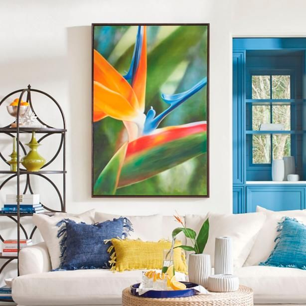 Remarkable Birds Of Paradise Artwork Home Decor Slipcovers Spiritservingveterans Wood Chair Design Ideas Spiritservingveteransorg