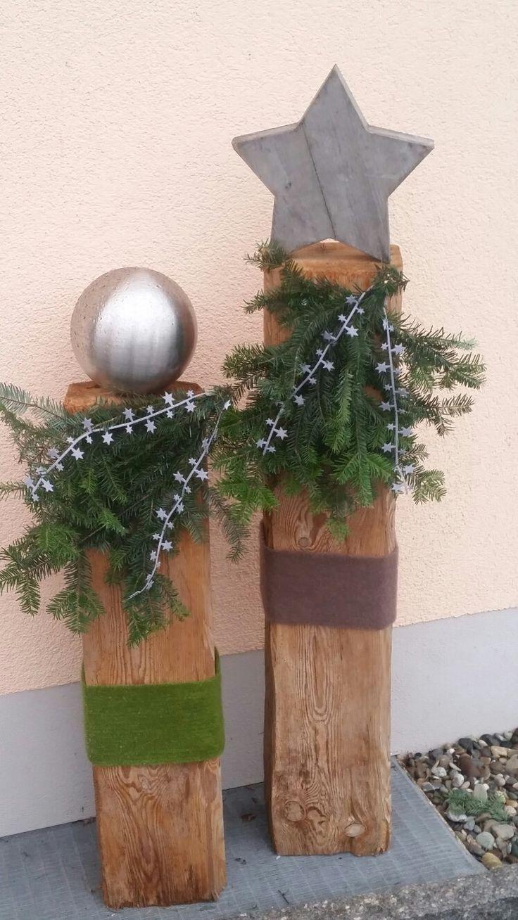 Gartendeko Weihnachtsdekohauseingang In 2020 Christmas Deco