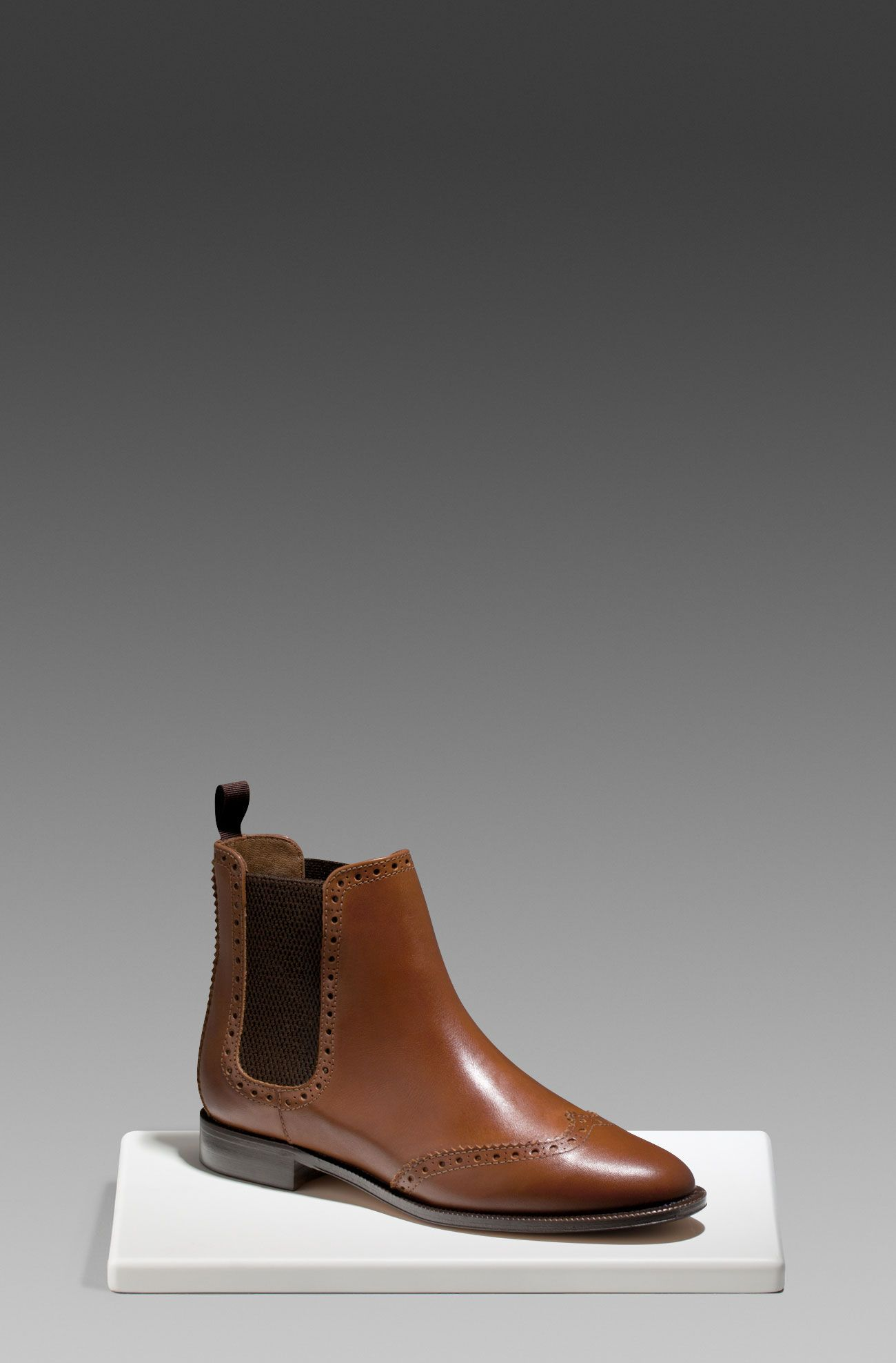 b1eb4fe1ca1 LEATHER ELASTIC ANKLE BOOTS - Shoes - WOMEN - Greece Massimo Dutti ...