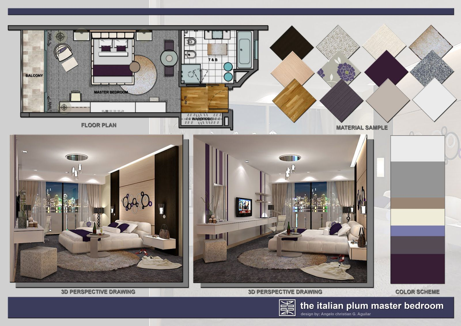 Nkba presentation boards google search presentation - Interior design presentation layout ...