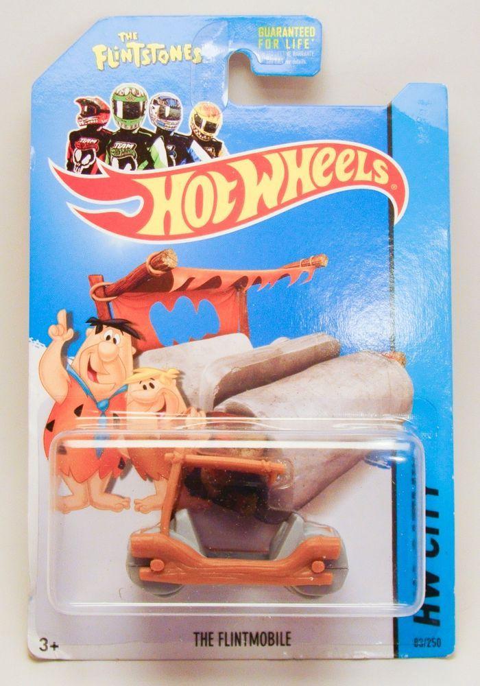 Hot Wheels HW City The Flintstones The Flintmobile