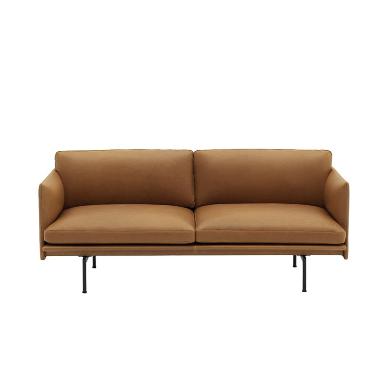 Canape Outline 2 Places Cuir Muuto Mobilier Design Canape Fly Canape Oslo
