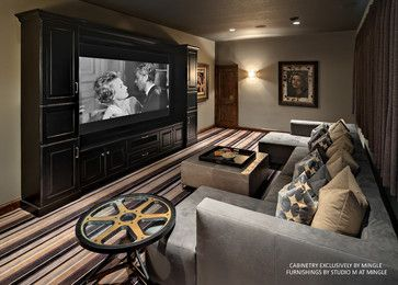 Small Media Room Design Ideas Pictures Remodel And Decor Small