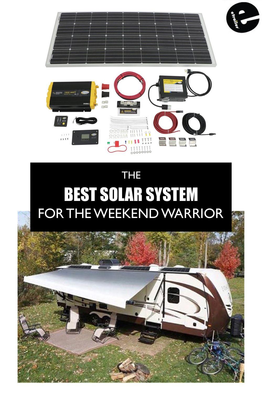 Go Power Weekender Isw Rv Solar Charging System 190 Watt Solar Panel 1 500 Watt Inverter Go Powe Rv Solar Panels Rv Solar Solar