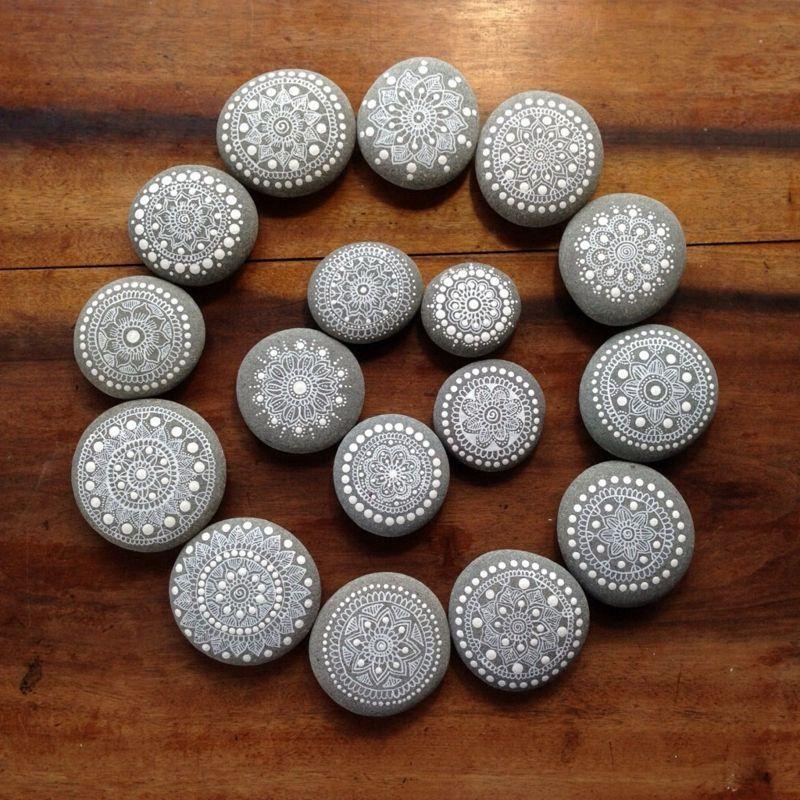 Lernen Sie Ihr neues Hobby kennen: bemalte Steine! - Hausdekoration mehr - Welcome to Blog