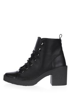 BASIL Lace-Up Ankle Boots