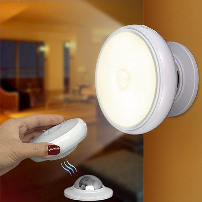 Motion Sensor Wireless Indoor Night Light Rechargeable Wall Sensing Led Lights Stick Anywhere For Kids Bedroom Stairs Kitchen Patio Hallway Bathroom