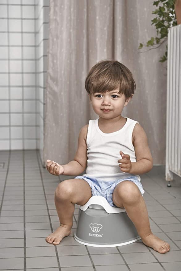 Amazon Com Babybjorn Smart Potty Gray Toilet Training Potties Baby In 2020 Baby Bjorn Toilet Training Future Mom