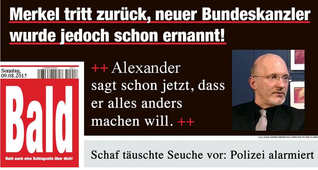 Merkel Tritt Zurück