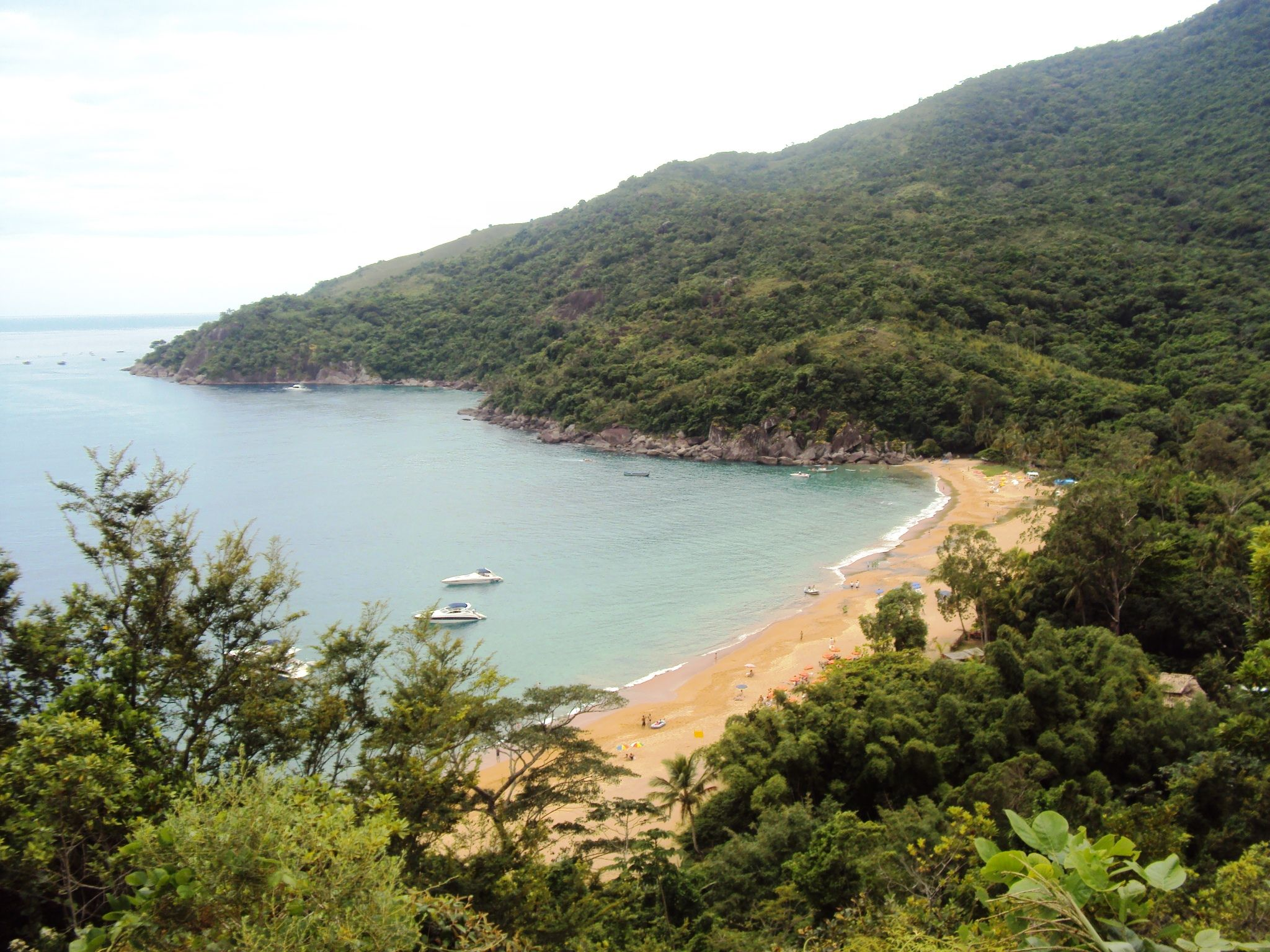 Praia do Jabaquara - Ilha Bela/SP