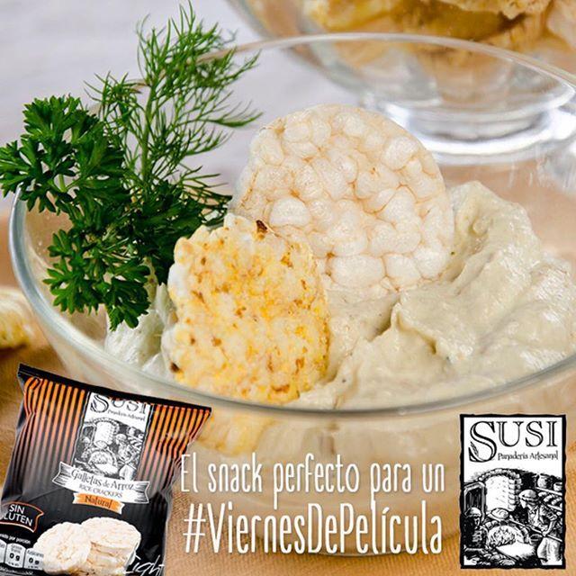 Acompaña tu #ViernesDePelícula con las #GalletasDeArroz de #Susi, livianas y deliciosas, perfectas para compartir y disfrutar con un #DipDeBerenjena de #SusiPanaderíaArtesanal #SUSINutriciónCreativa  #EstiloDeVidaSaludable #SnackSaludable #Susi #Granola #Cereal #Oats #Pan #Bread #Brot #Panadería #SnacksSaludables #ComidaSaludable #Cereales #FrutosSecos #Yummy #Delicious #Tasty #TradiciónAlemana #SinAditivos #Delicioso #Sano #Natural #HealthyFood #NutriciónCreativa
