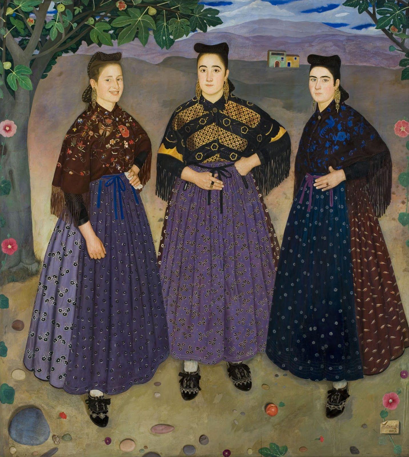 fraga:trajes tradicionales de aragon pintados por viladrich - Buscar ...