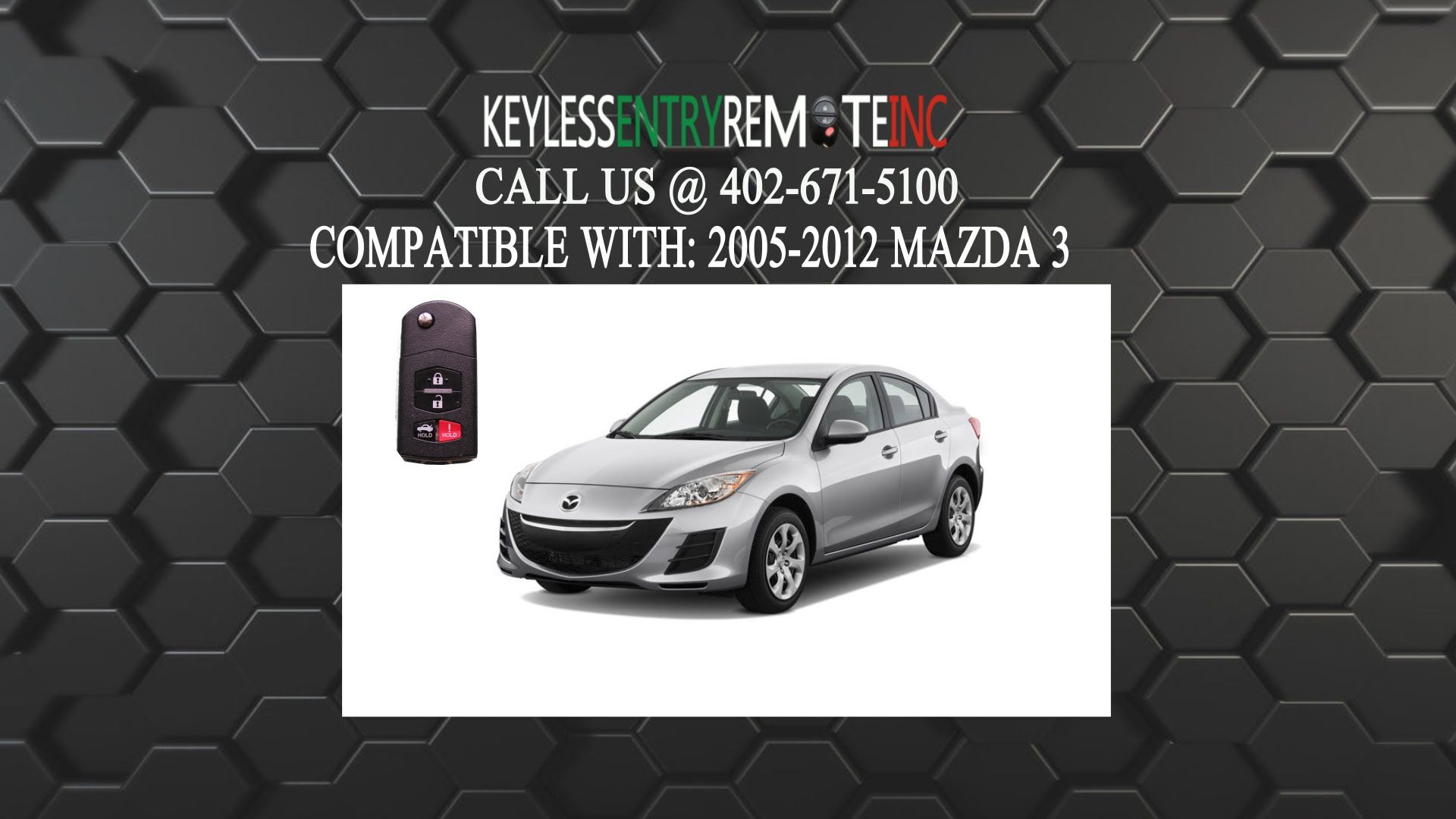 How To Replace A Mazda 3 Key Fob Battery 2010 2013 Mazda