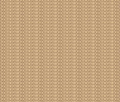 Birchbark letter 206, brown - quinnanya on Spoonflower. Fabric from $17.50/yd.