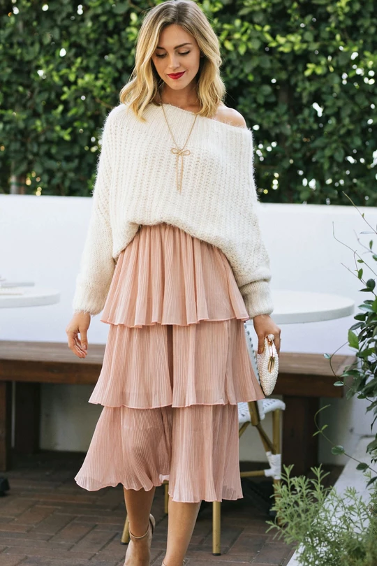 Midi skirt casual outfit, Casual wear | Outfit With Midi