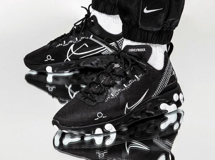 Vous voulez acheter la Nike React Element 55 'Black White ...