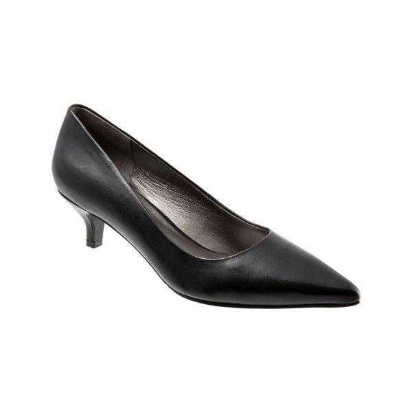 Black leather · Women's Trotters Paulina Pump ...