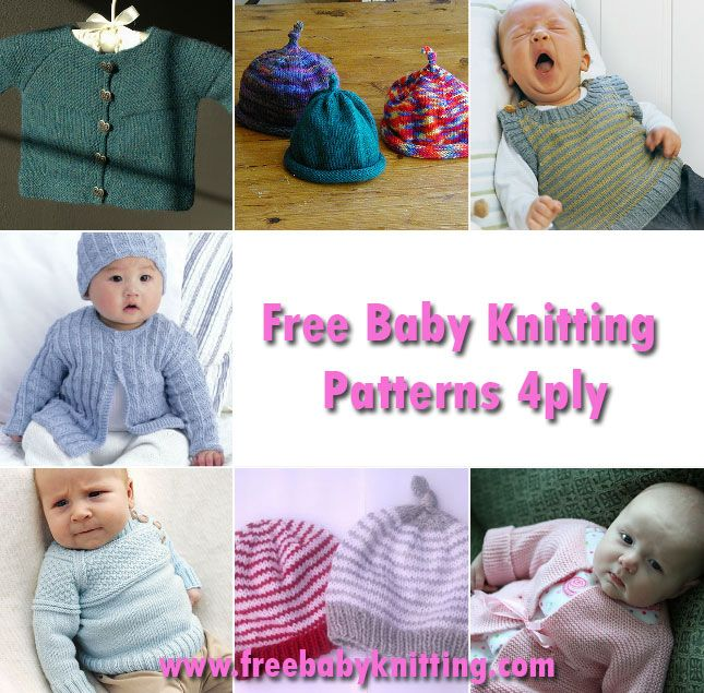 60480d2d4cfe Free Baby Knitting Patterns 4ply. If you are looking for a gorgeous ...