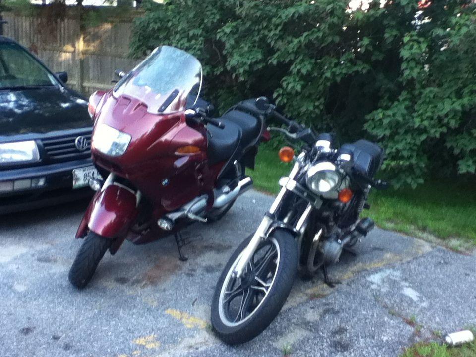 bmw r1100rt and suzuki gs550 | motorcycles | pinterest | bmw
